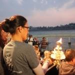 2013 India Retreat: Ganga Aarti