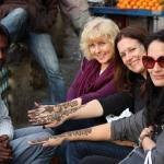 2013 India Retreat: Heena Tattoo